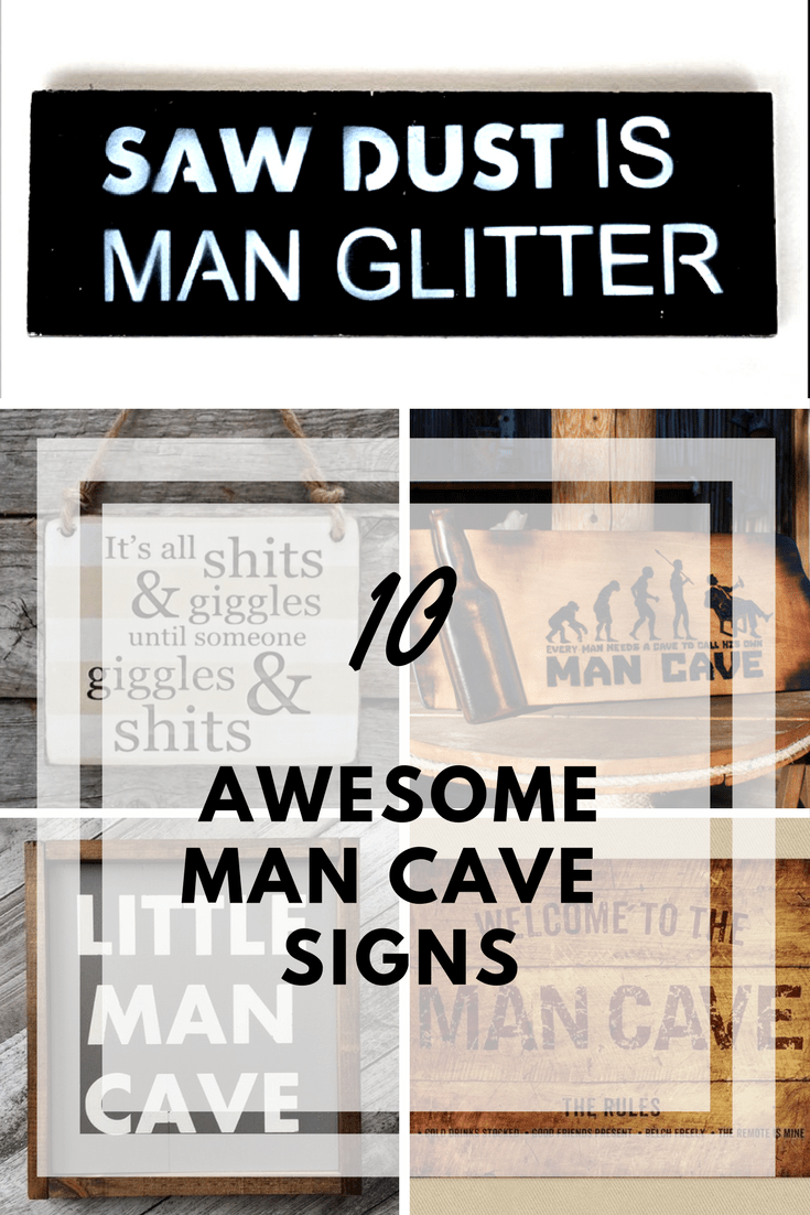 10 amazing man cave signs that look amazing dads bible. Black Bedroom Furniture Sets. Home Design Ideas