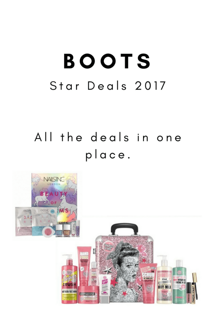 Boots Star Deals Beauty Gifts for Christmas - Dads Bible