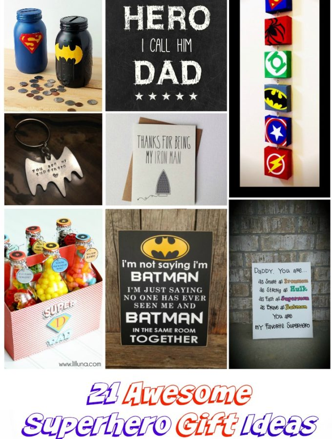 20 Awesome Superhero Gift Ideas for Dads