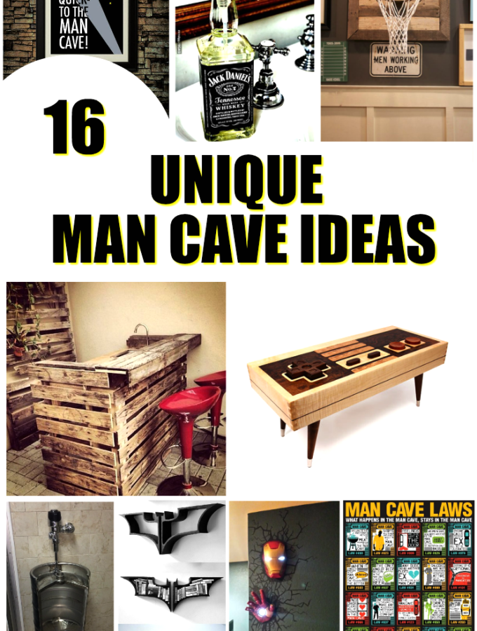 16 Totally Unique Man Cave Ideas You Will Love