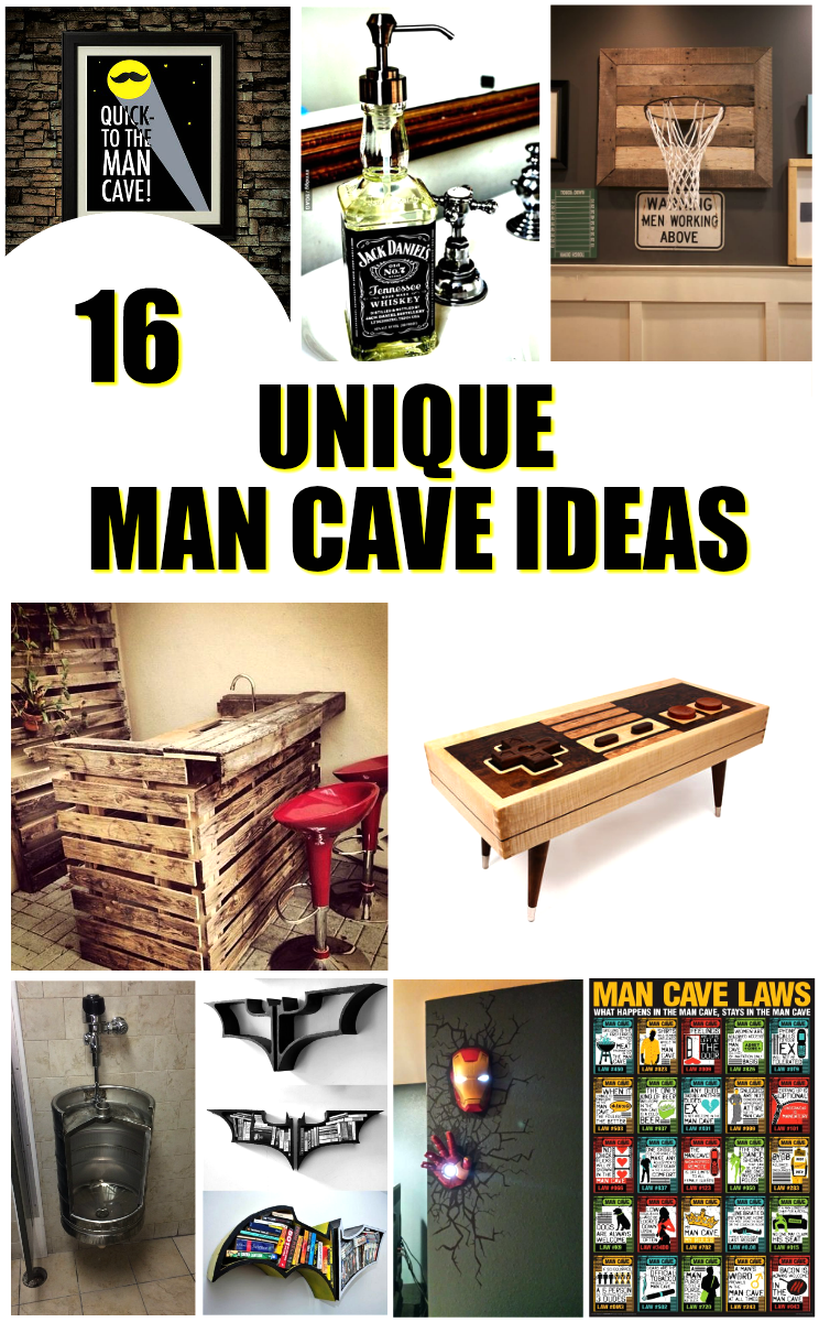 cool bar ideas in garage - 16 Unique Man Cave Ideas You Will Love