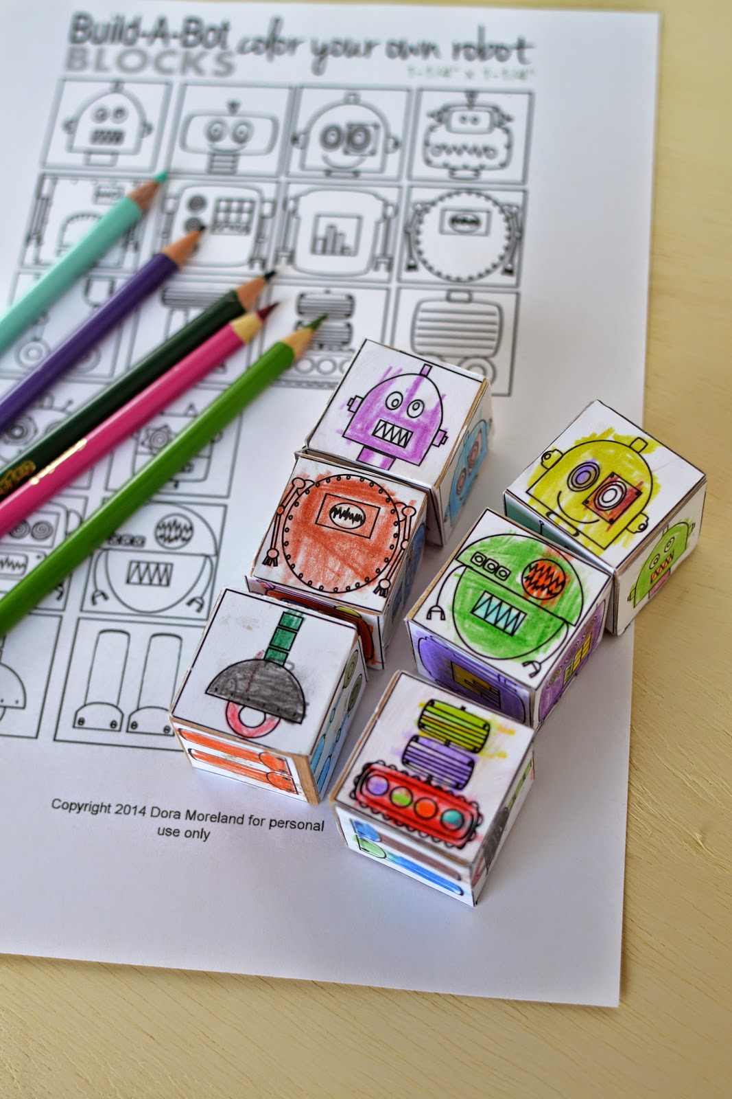 10-Paper-Crafts-For-Kids-Make-Your-Own-Robot-Blocks