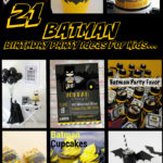 21 Awesome Batman Birthday Party Ideas for Kids
