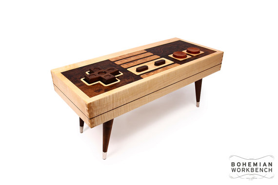 21-man-cave-ideas-Nintendo-Controller-Coffee-Table-image-2