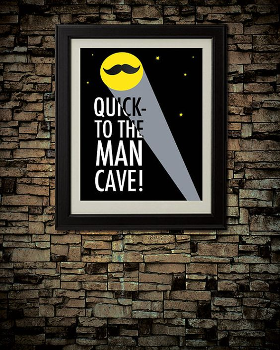 21-man-cave-ideas-quick-to-the-man-cave-wall-mounted-picture