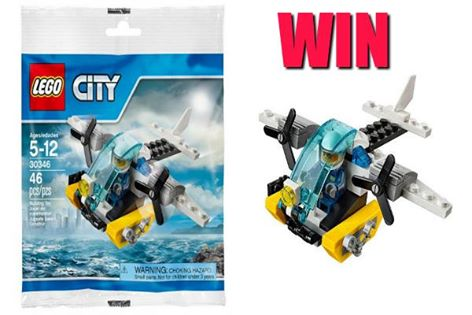 Win a Limited Edition Lego Plane