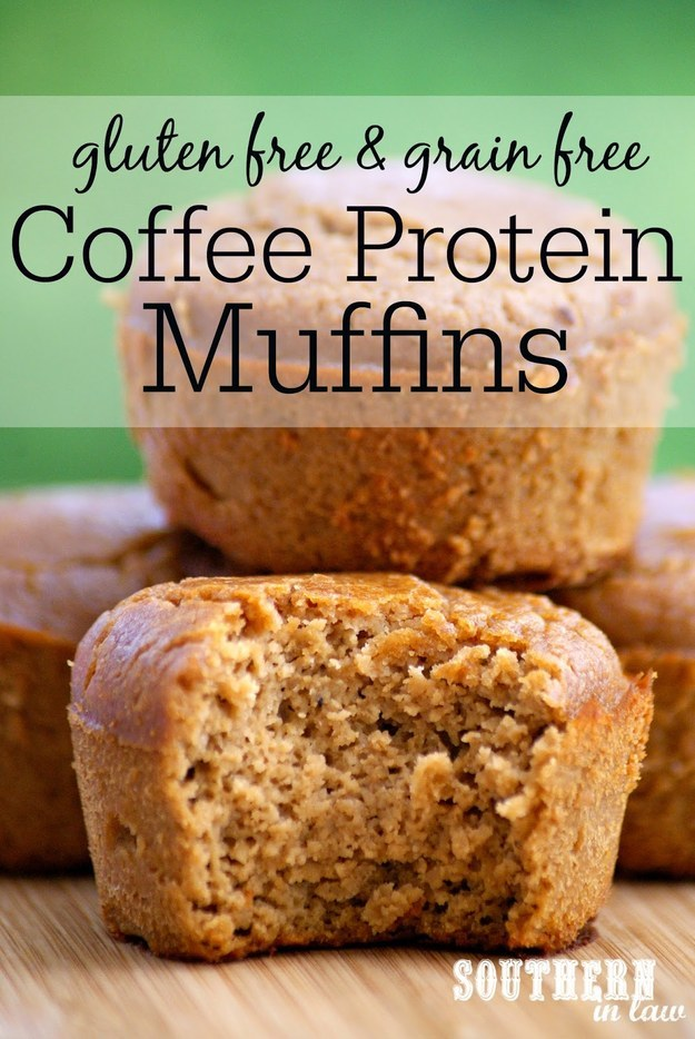 Healthy Breakfast Recipes Coffee Protein Muffins