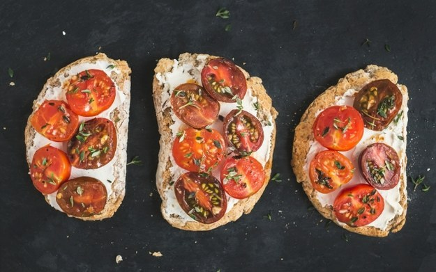 Healthy Breakfast Recipes Herbed Ricotta Tomato Toast