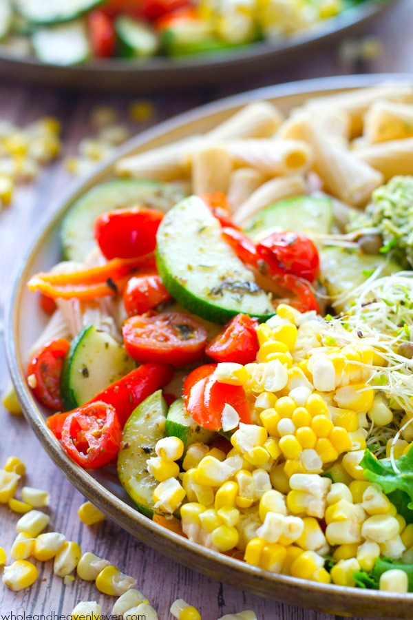Healthy-Dinner-Recipe-Pasta-Bowls