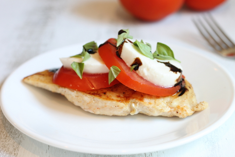 Quick and Healthy Chicken Caprese Healthy Recipes on a budget