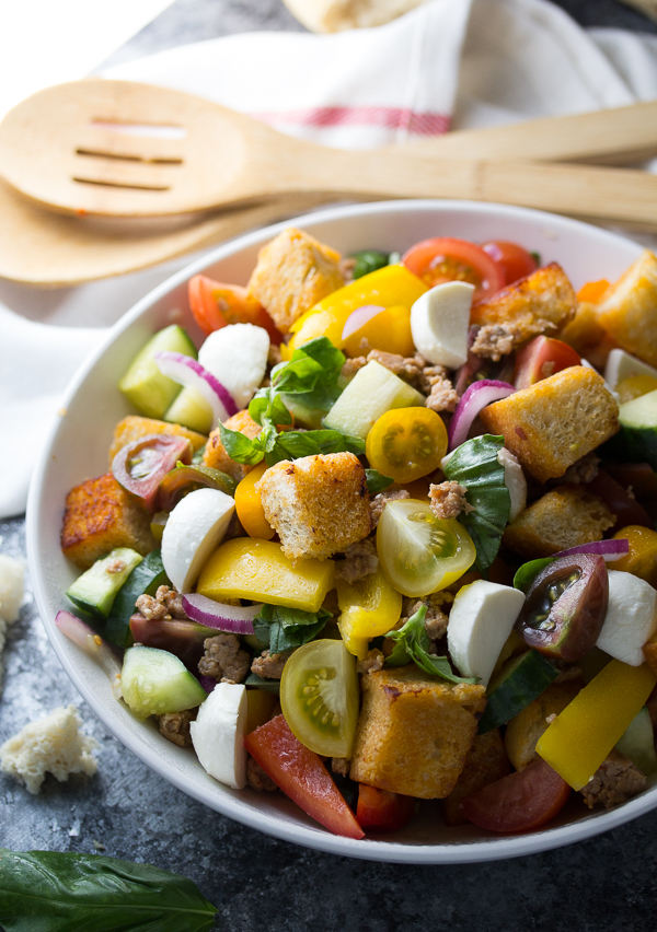 Sausage-and-Pepper-Panzanella-Salad-with-Smoky-Buttermilk-Vinaigrette