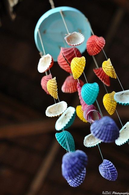 seashell wind chimes instructions