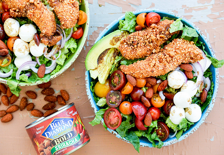 Sriracha-Almond-Chicken-Salad