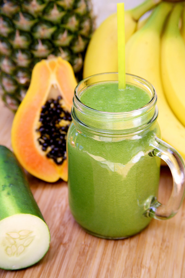 Tropical-Debloating-healthy-Smoothie-recipe