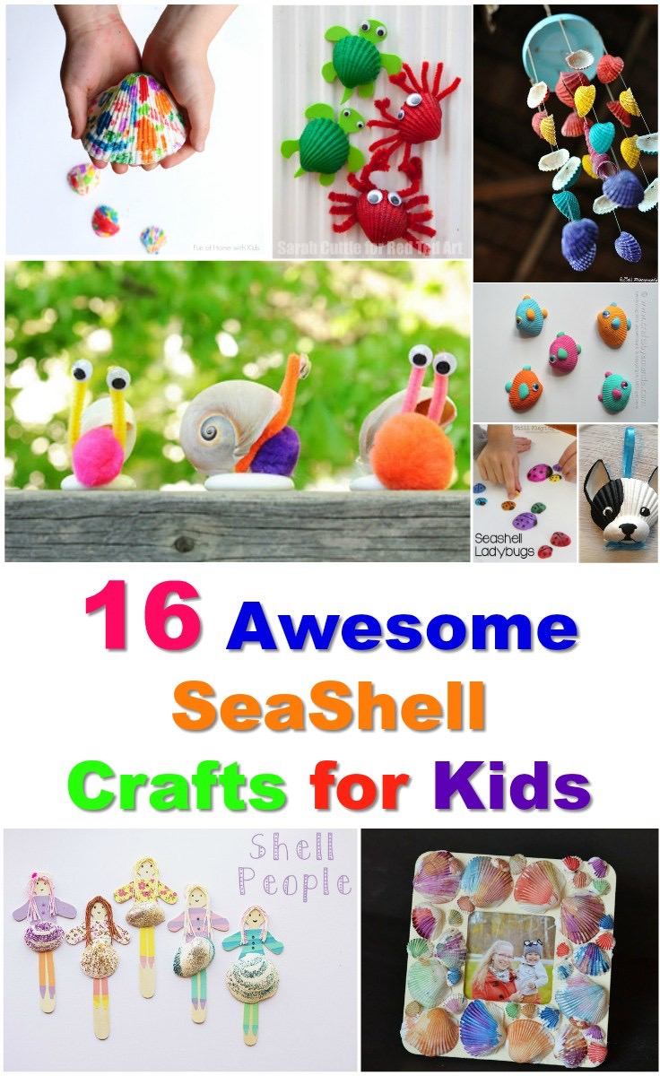 16 seashell craft ideas
