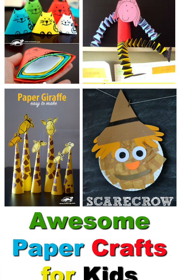 10 Paper Crafts for Kids To Keep Them Entertained