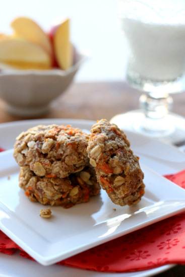 carrot-cake-breakfast-cookies-vegan