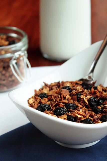 dried-blueberry-granola