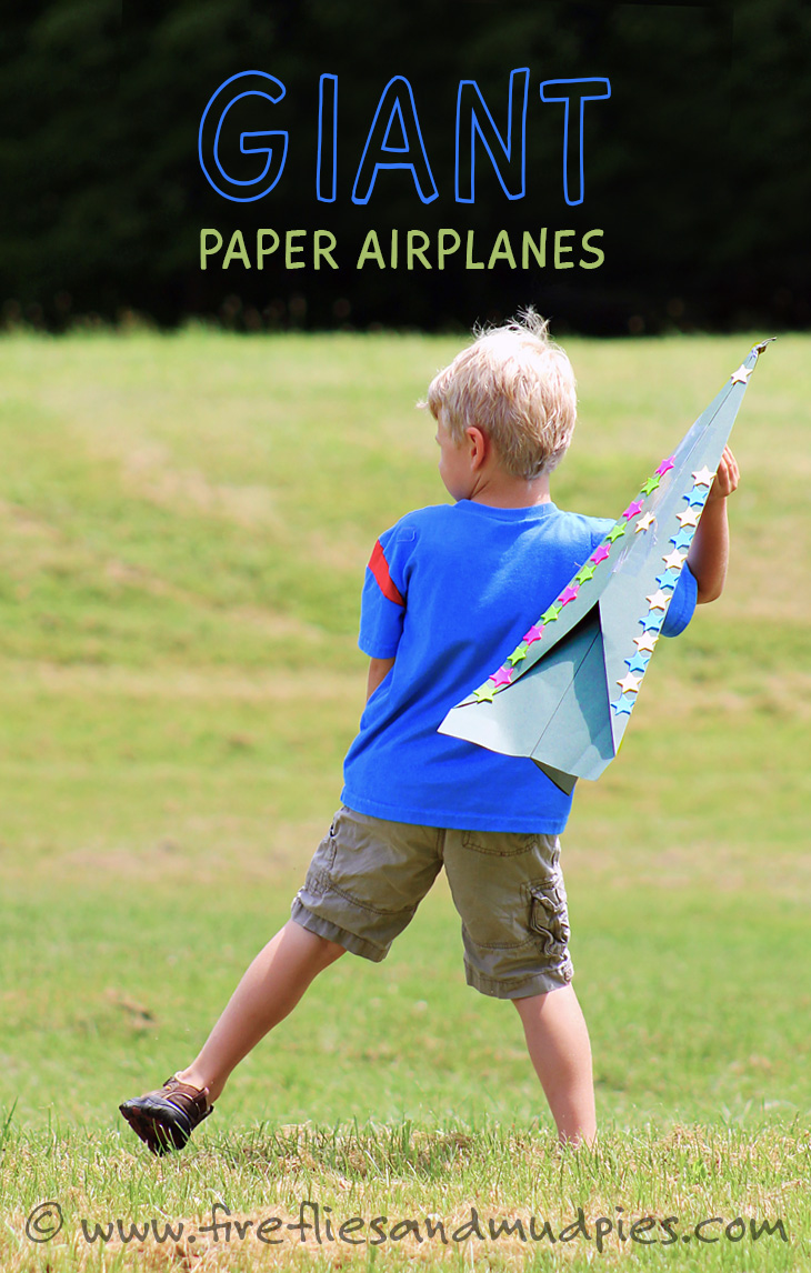 Learn to make Giant Paper Airplanes