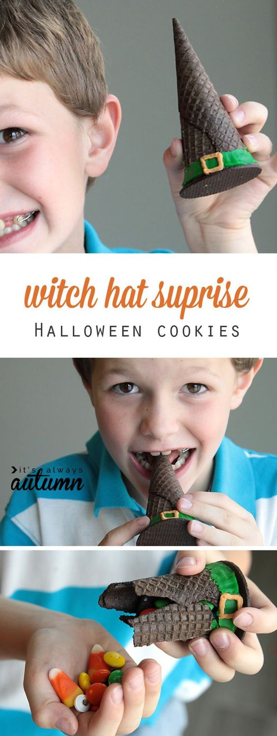 10-halloween-treats-for-kids-witch-hat-cookies