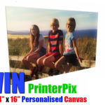 "Win a 24″X""16 PERSONALISED CANVAS BY PRINTERPIX"