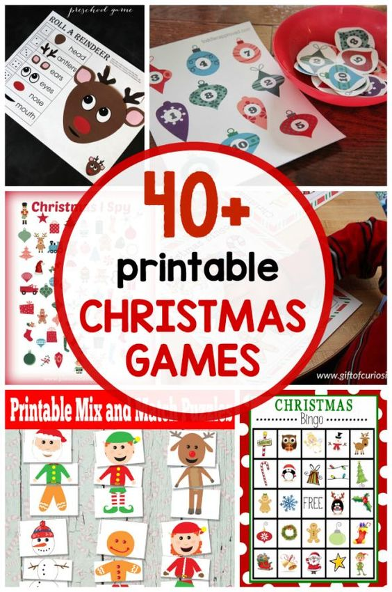 Smart image regarding printable christmas party games