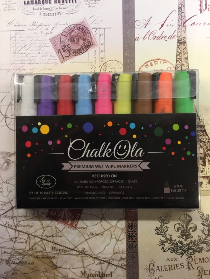 Chalkola Chalk Pens Wet Wipe Markers Review