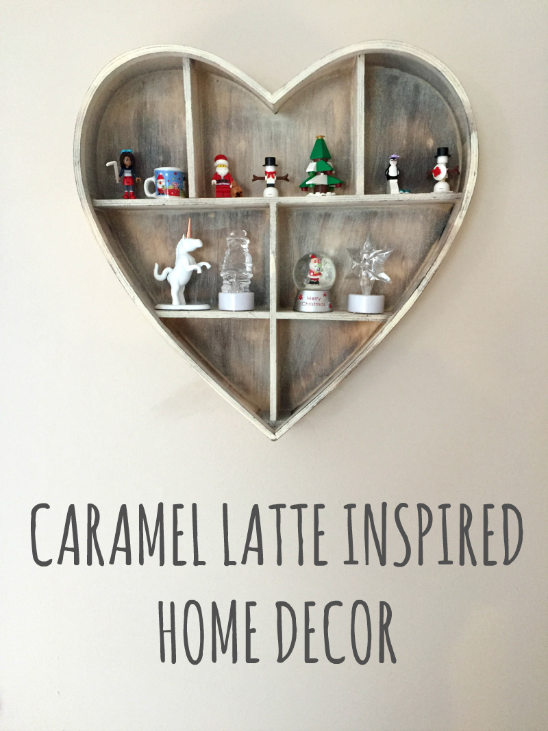 caramel latte inspired home decor