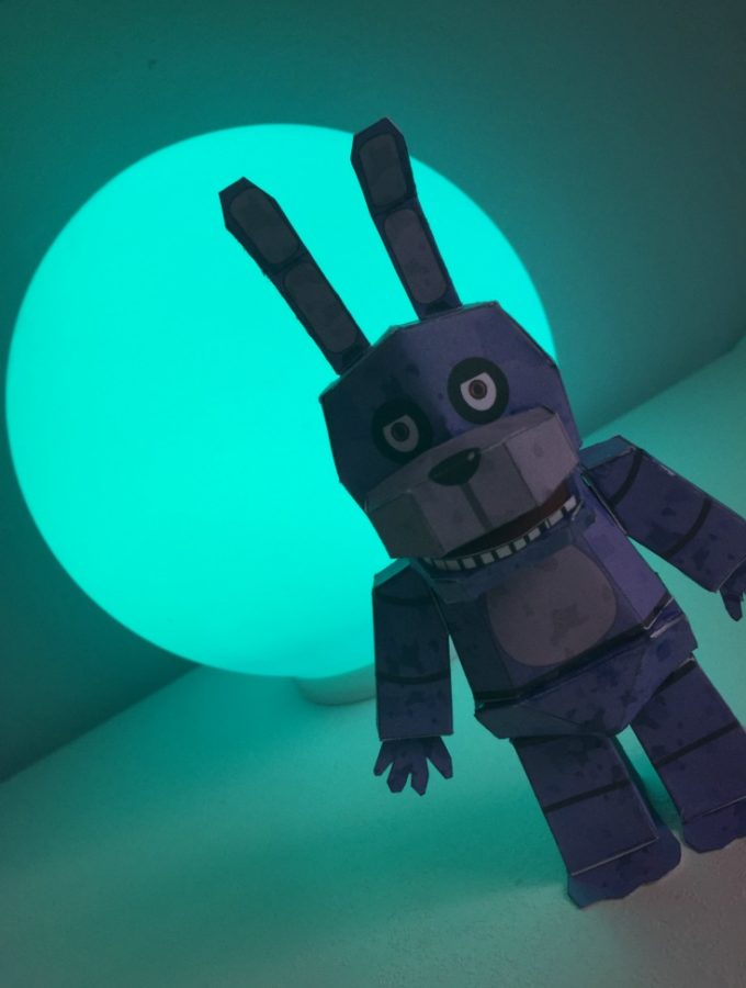 Five Nights At Freddys Purple Bonnie The Bunny Free Printable