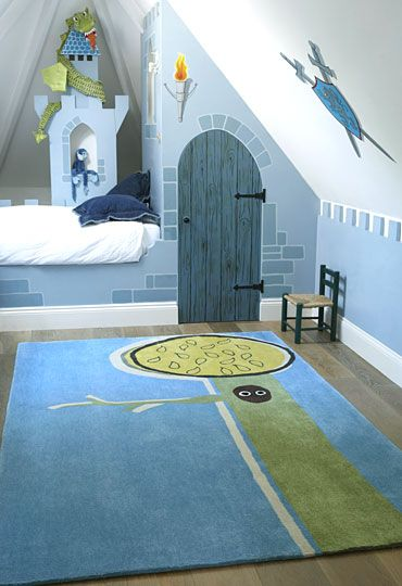 15 Cool Kids Room Ideas - Castle Inspired Decor