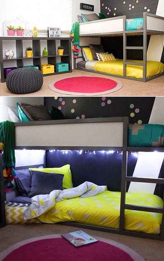 15 Cool Kids Room Ideas - Create an Ikea childs bedroom