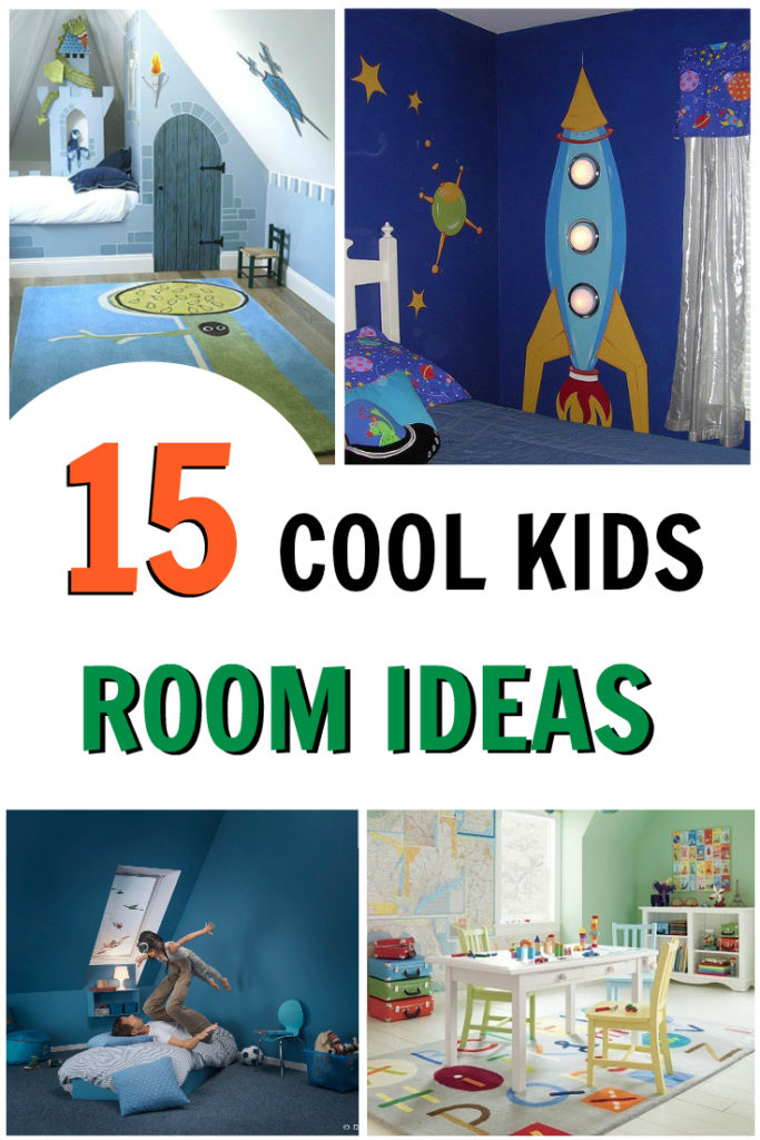 15 Cool Kids Room Ideas that Rock