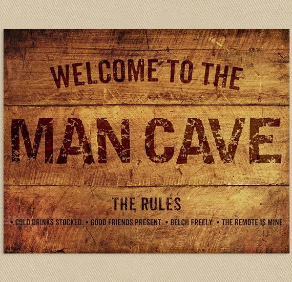 Man Cave Signs To Buy : Amazing man cave signs that look dads bible
